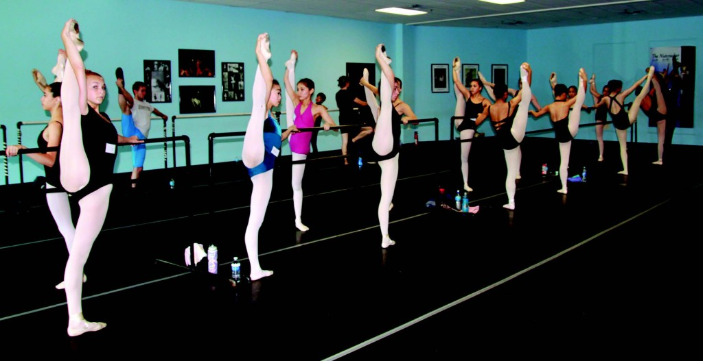 Japanese ballet students train in Indiana