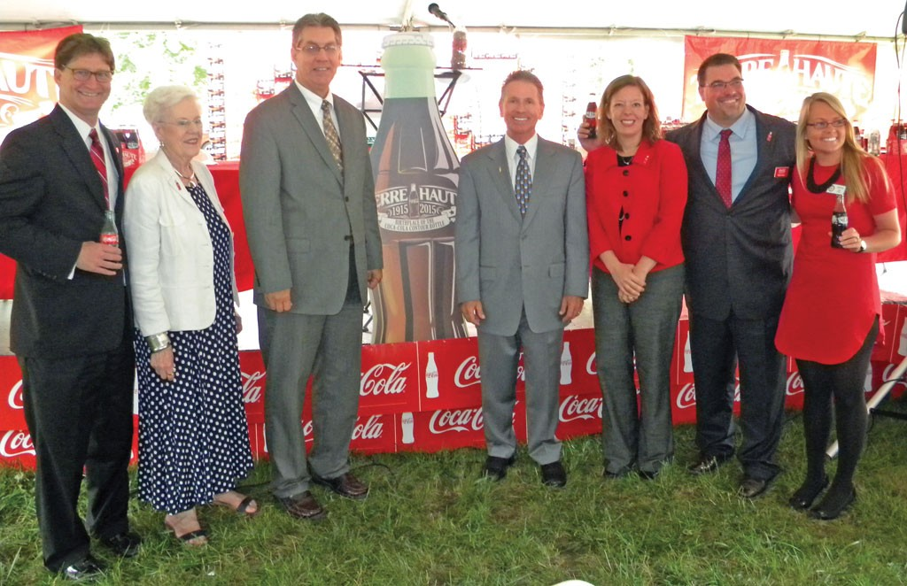 Coca-Cola brings celebration  of contour bottle to Terre Haute
