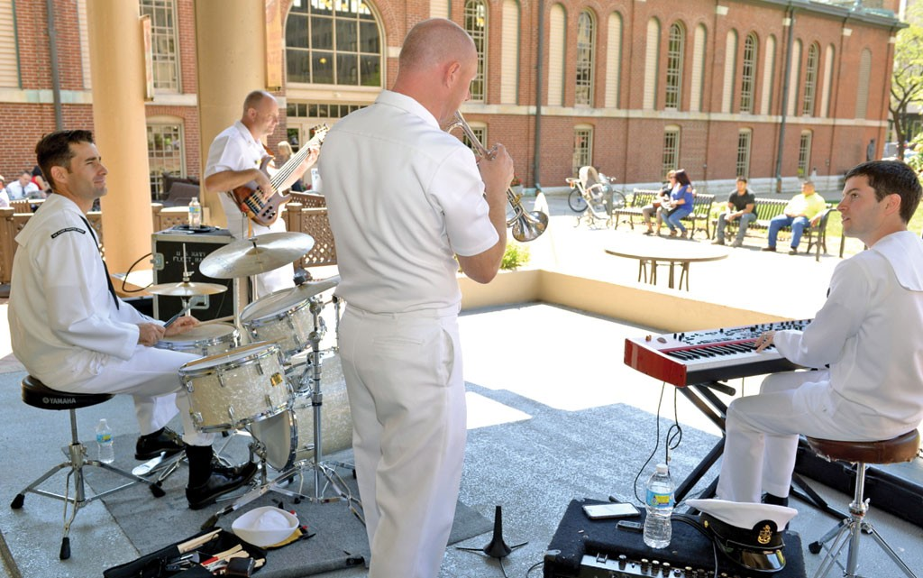 U.S. Fleet Forces Band comes to Indianapolis