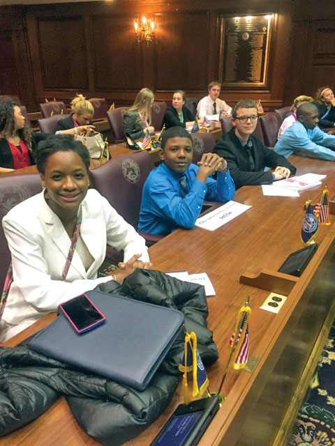 Teens take over the Statehouse